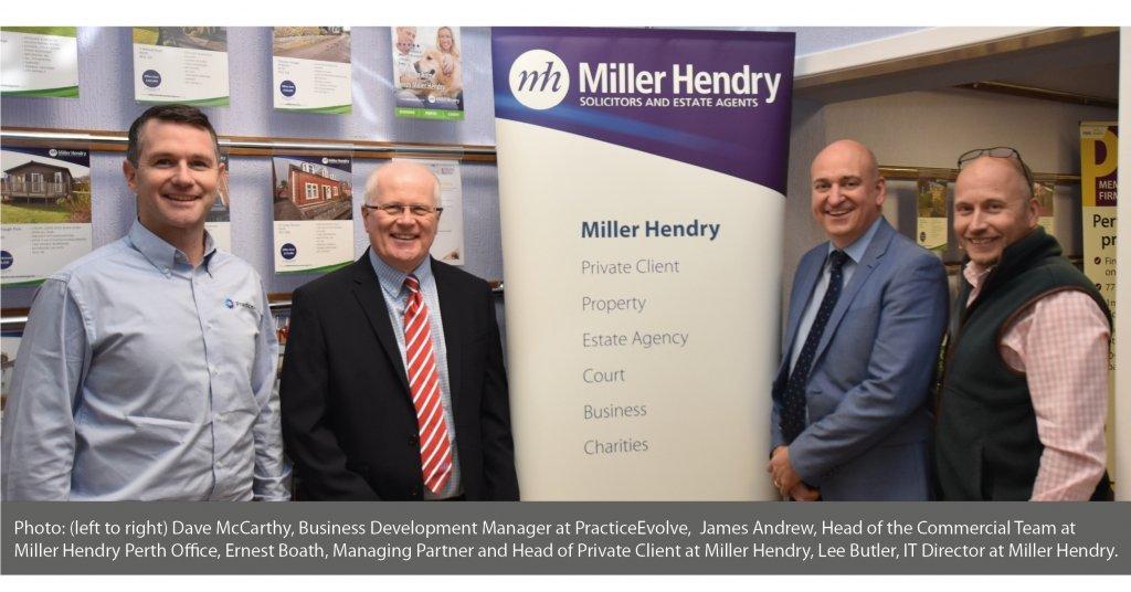PracticeEvolve Miller Hendry Solicitors Media Release